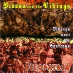 Bisson And The Vikings & Filopatria ‎– Vikings Meet The Spartans